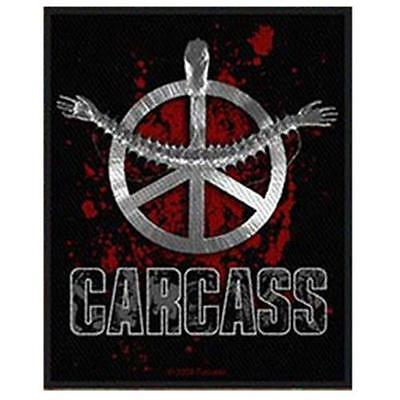 OFFICIAL LICENSED - CARCASS - HEARTWORK SEW ON PATCH EXTREME METAL