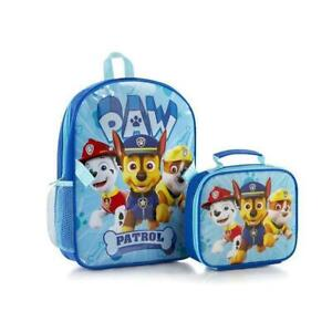 PAW Patrol Econo Backpack for Boys with Lunch Bag Kit - 15 Inch
