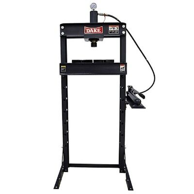 New Dake 972210 F-10 Floor 10-ton Manual H-frame Press