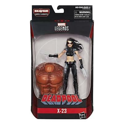 "Marvel Legends DEADPOOL BAF SASQUATCH Wave 2018 X-23 6""Figure In Stock"