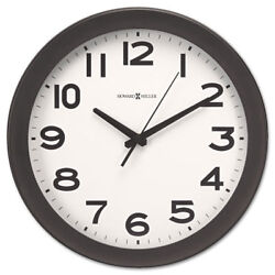 Howard Miller Kenwick Wall Clock 13-1/2 Black 625485