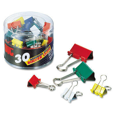 Oic Binder Clip Assortment Mini Small Medium Each Assorted