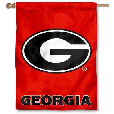 Georgia Bulldogs House Banner Flag ()