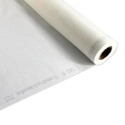 3 Yards 110 Mesh X 63 Width - White Silk Screen Silkscreen Printing Fabric