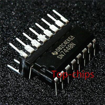 1pcs Sn7448n Encapsulationdip-16bcd-to-seven-segment Decodersdrivers