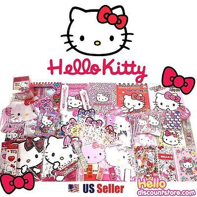 Sanrio Hello Kitty Assorted School Supply Stationary Blind Goody Gift Set
