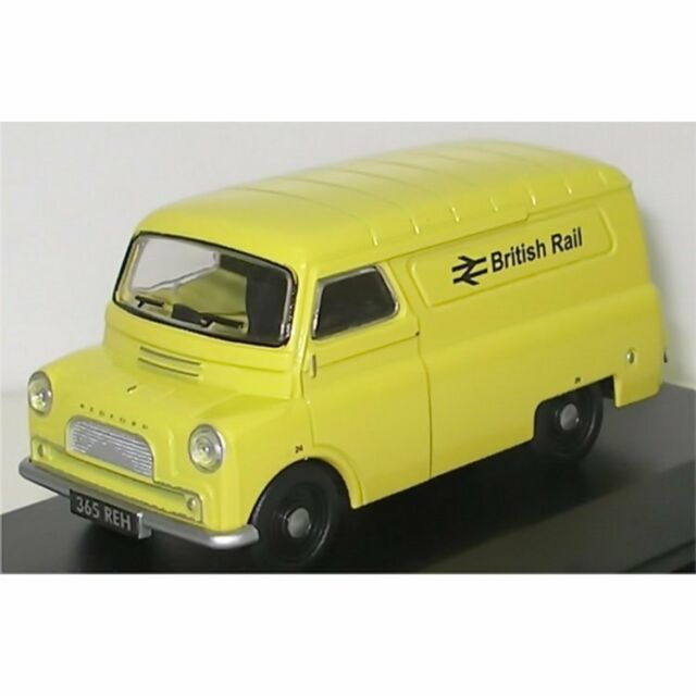 Oxford Diecast 1/43 CA010 Bedford CA Van British Rail Yellow