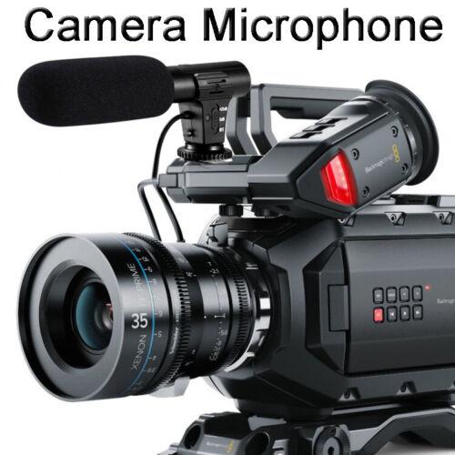 Shotgun Microphone Interview Recording Mic for DSLR Canon Ni