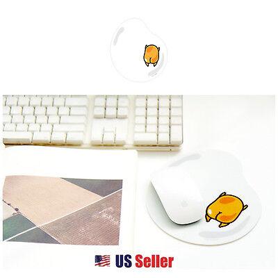 Sanrio Gudetama Lazy Egg Computer Laptop Mouse Pad : Egg White Pad