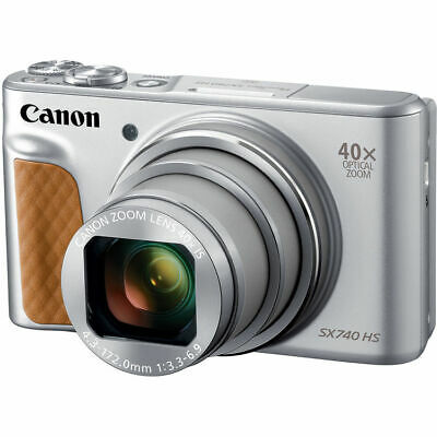 Canon PowerShot SX740 HS Digital Camera (Silver) 2956C001
