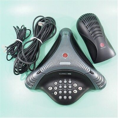 Polycom Voicestation 300 Speaker Phone 2201-17910-001 Free Ship