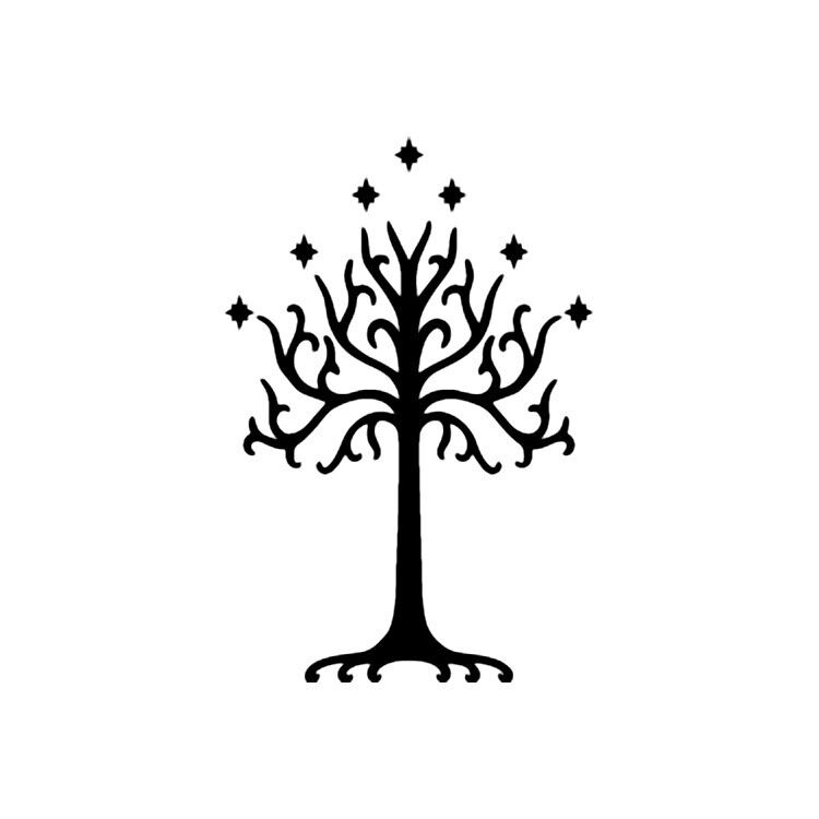 Symbolism Lord of The Rings Lord of The Rings White Tree