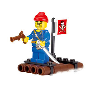 LEGO-COMPATIBLE: SMALL PIRATE RAFT - NEW!!!