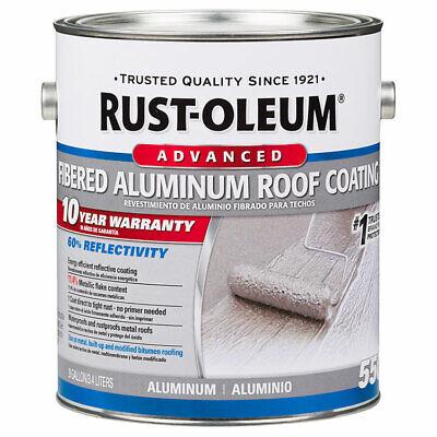 Rust-Oleum 301906 10 Year Fibered Aluminum Roof Coating gal