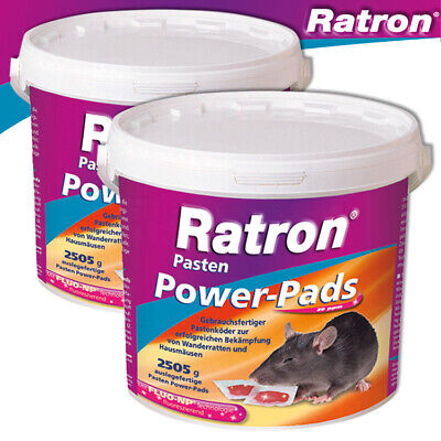 Frunol Delicia 2 x 2505 G Ratron Pastes Power-Pads 29 Ppm