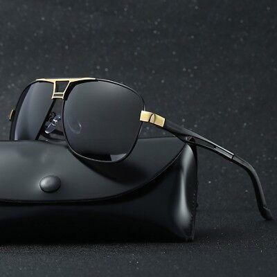 Men's Polarized Pilot Sunglasses Outdoor Driving Sun Glasses Sport Eyewear /Mask