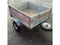 120 tipping trailer