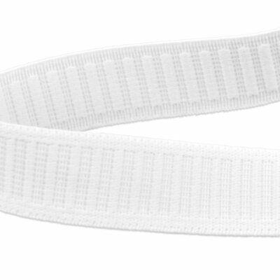Elastic WHITE Non Roll Waistband Waist * MASK SHIELD STRAPS  * 1