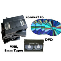 VHS, 8 mm to DVD conversion