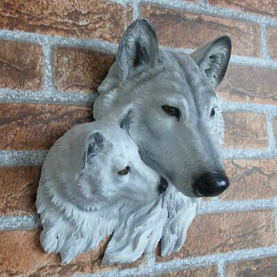 Wall Mounted Animal Head Sculpture Statue Resin Bar Club Art Home Decorative