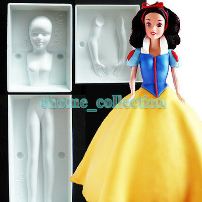 - 3D Human Body Mould People Person Fondant Cake Decoration Tools DIY Figure Mould