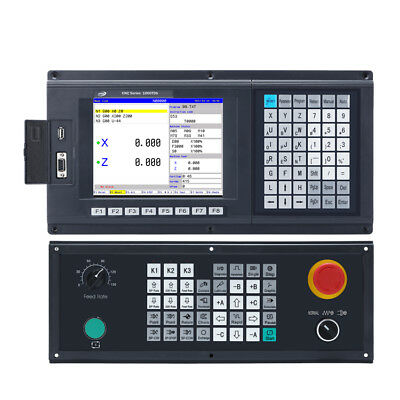 Popular 3 Axis Cnc Controller For Turning Lathe Machine Support Plc Atc