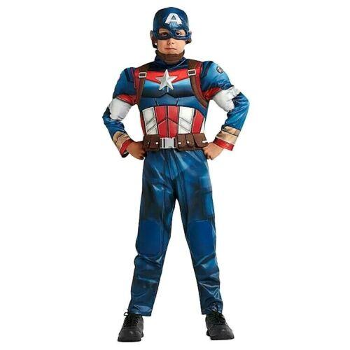 NWT Disney Store Marvel Avengers Captain America Deluxe Costume Boys 9/10