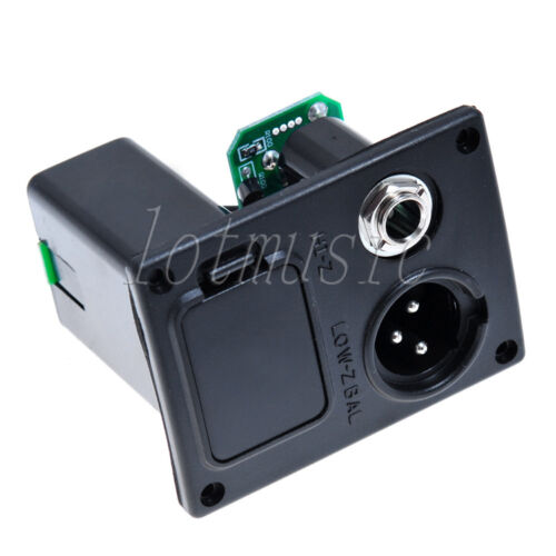 Acoustic Guitar Equalizer EQ Battery Box 4 Pin B Type For