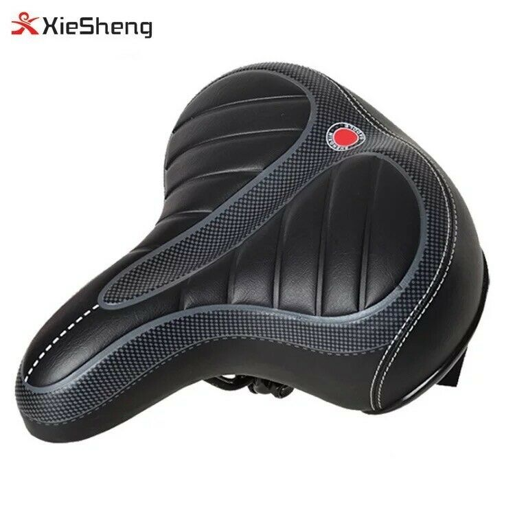 comfort wide big bum bike bicycle gel