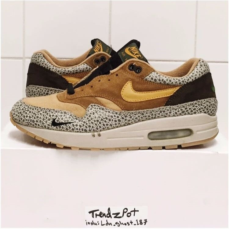 usa nike air max 1 x atmos og safari uk 8.5 us 9.5 1d6a2 b7312 c3edb8516
