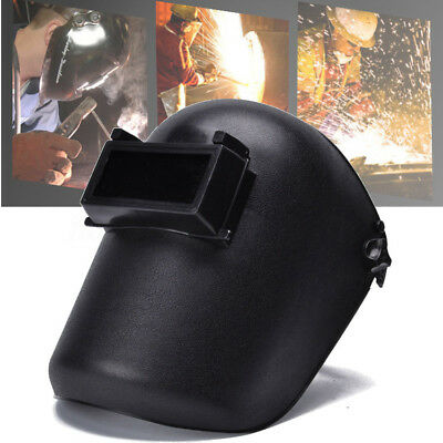 Welding Helmet Electric Welding Argon Arc Head-mounted Mask Black Adjustable