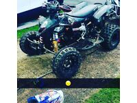 Can am ds450 canam road legal race quad, 2009/59 reg, not honda ktm yamaha suzuki tm motocross