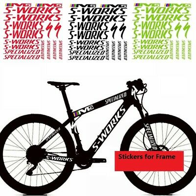 Frame Stickers Set for M5 S Works MTB Bike Bicycle Cycling Cycle Race Decals