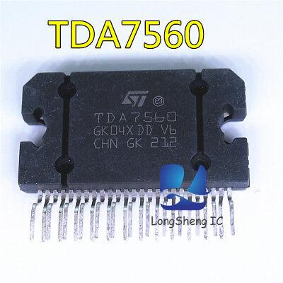 5pcs Tda7560 St Zip-25 4x45w Quad Bridge Car Radio Amplifier Plus