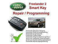 Land rover Freelander LR2 Smarkey fob Manchester rochdale bolton leeds bury suppy and program