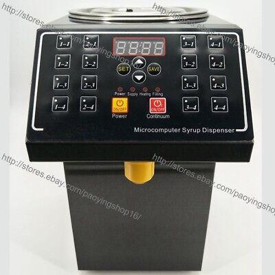 6l Electric Boba Bubble Tea Sugar Fructose Syrup Dosage Machine Dispenser