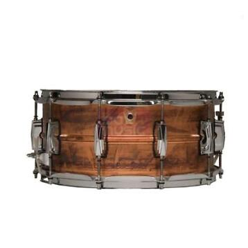 (B-Stock) Ludwig LC661 Raw Copperphonic 14 x 5 inch...