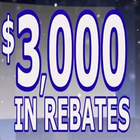 "█ ♣ █. . .CANADIAN WINDOWS. . . █ ♣ █  "" FACTORY REBATE $ 3000 """