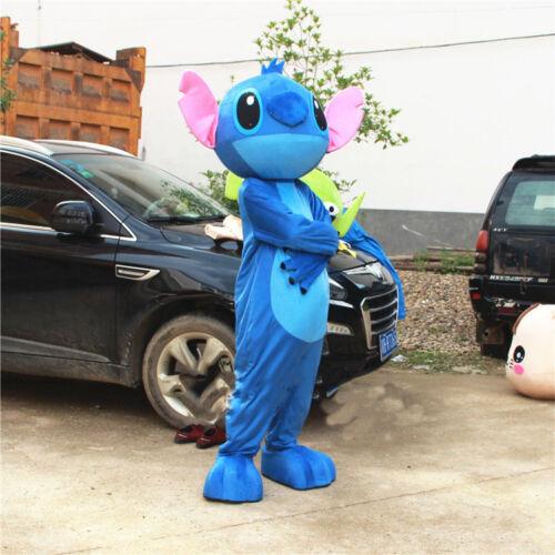 Lilo Stitch Mascota Disfraz Disney Vestido Juegos Con Disfraces Adulto Desfile De Halloween Trajes Ebay