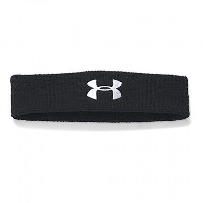 Under Armour Men's Performance Headband, Black/White, One Size