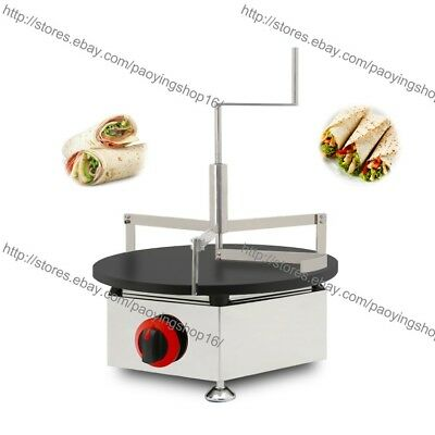 Nonstick LPG Gas Crepe Machine Pancake Maker Baker Iron w/  Crepe Spreader Set, used for sale  Shipping to Nigeria