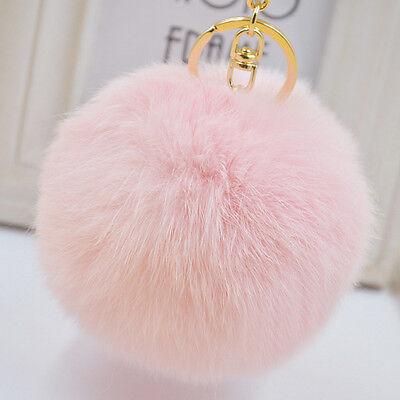 Fashion fur ball Keys Hangings Accessories bag accessories Fuzzy Ball keychain - Fuzzy Balls
