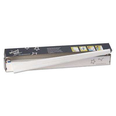 Wizard Wall 28 System Dry Erase Static-cling Film Jumbo 27 12 X 40 Ft White