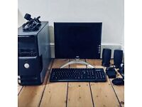 Dell Dimension 3100 PC & Hercules Monitor