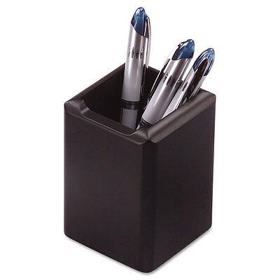 Rolodex Wood Tones Pencil Cup 2.75 X 2.75 X 4 Black Ea - Rol62524