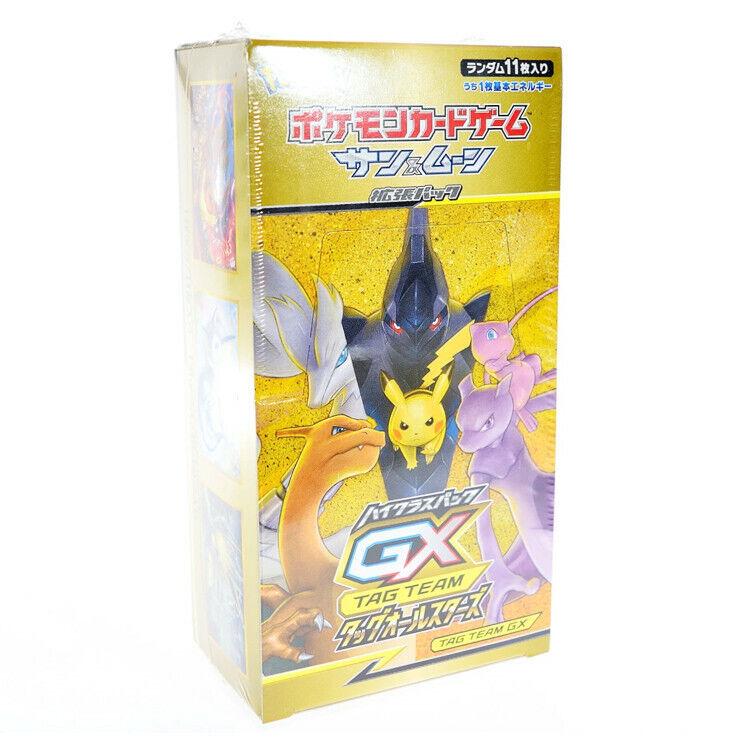 Pokemon Tag Team Gx All Stars Sealed Booster Box - Uk Stock