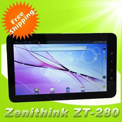 "Zenithink C91 10"" Google Android 4.0 ZT-280 8GB Capacitive Screen Tablet PC"
