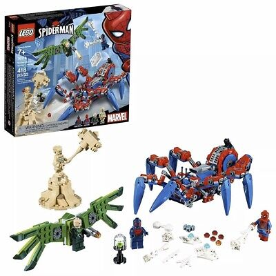 LEGO 76114 Spiderman's Spider Crawler 418 Pieces Set NEW Factory Sealed