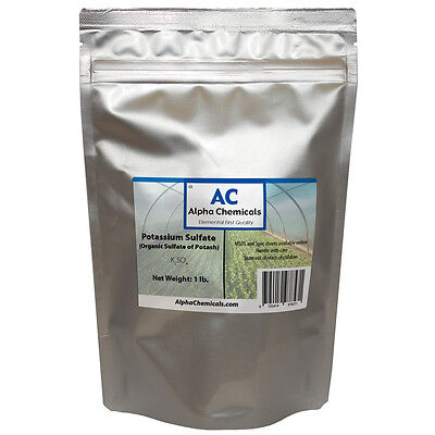 1 Pound   Sulfate Of Potash   Potassium Sulfate   Organic
