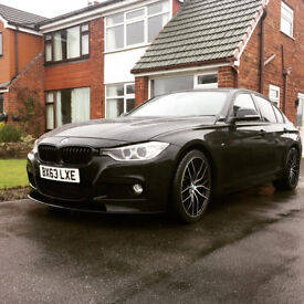 2013 BMW 316D (Not 318d 320d) - Sport - M performance Parts - Low Miles - M Sport Spec - £30 Tax
